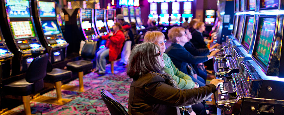 seniors enjoy a casino