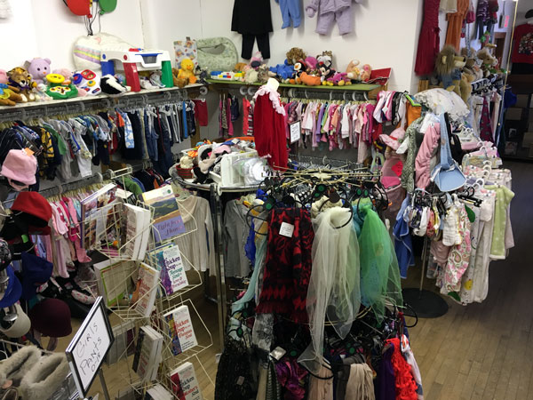 Children's clothing and toys